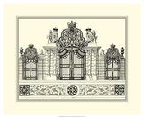 Grand Garden Gate I Prints by O. Kleiner