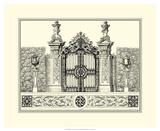 Grand Garden Gate III Art by O. Kleiner