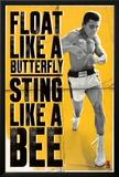 Muhammad Ali - Float like a Butterfly Prints