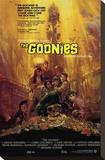 Filmposter The Goonies Kunst op gespannen canvas