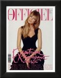L'Officiel, December 1993 - Claudia Schiffer Poster af Francesco Scavullo