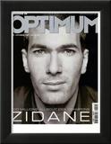 L'Optimum, September 2001 - Zinedine Zidane Posters par François Darmigny