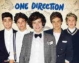 One Direction - Portrait de groupe Posters