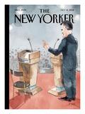 The New Yorker Cover - October 15, 2012 Reproduction procédé giclée par Barry Blitt