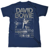 David Bowie - Isolar Tour 1976 (Slim Fit) Tshirt