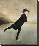 Reverend Walker Skating Stampa su tela di Sir Henry Raeburn