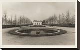 French Pavilion at Versailles Opspændt lærredstryk af Christian Peacock