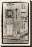 Musee du Montmartre Opspændt lærredstryk af Christian Peacock