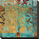 Serendipity Tree I Stretched Canvas Print by Louise Montillio