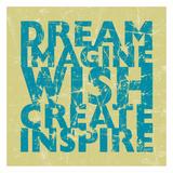 Dream Wish Poster von Carole Stevens