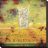 Nothing To Dream Opspændt lærredstryk af Rodney White