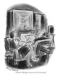 """Oh dear! My figure has gone out of style again."" - New Yorker Cartoon Reproduction giclée Premium par Jr., Whitney Darrow"