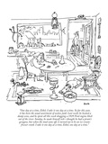 """One day at a time, Ethel, I take it one day at a time. So far this year, …"" - New Yorker Cartoon Reproduction giclée Premium par George Booth"