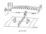 Shouting Match - Cartoon Giclee Print by Michael Maslin