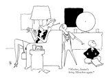 """""""Mother, Junior's being Mencken again."""" - New Yorker Cartoon Premium Giclee Print by Gardner Rea"""