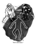 """Don't editorialize."" - New Yorker Cartoon Premium Giclee Print by Benjamin Schwartz"