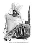 """Heavens! Who is that tall man standing beside Harriet"" - New Yorker Cartoon Premium Giclee Print by Helen E. Hokinson"