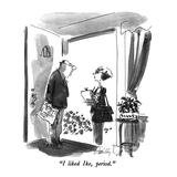 """I liked Ike, period."" - New Yorker Cartoon Premium Giclee-trykk av Donald Reilly"