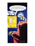 Finally, today, President Clinton has revealed his long-awaited health-car… - New Yorker Cartoon Premium Giclee Print by Robert Risko