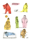 States - New Yorker Cartoon Premium Giclee Print by William Steig