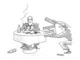 My Philosophy Take 74 - New Yorker Cartoon Premium Giclee Print by Jack Ziegler