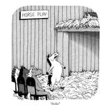 """Stella!"" - New Yorker Cartoon Reproduction giclée Premium par J.C. Duffy"