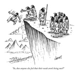 """""""So, does anyone else feel that their needs aren't being met"""" - New Yorker Cartoon Premium Giclee Print by Tom Cheney"""