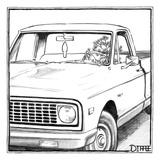 Christmas New Yorker Cartoons Affiche Sur