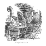 """Well, I like it five to one!"" - New Yorker Cartoon Reproduction giclée Premium par Jr., Whitney Darrow"