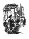 """""""I'm confused. Tell me again. Which countries have dictators we like"""" - New Yorker Cartoon Reproduction giclée Premium par Jr., Whitney Darrow"""