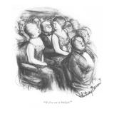 """We're on a budget."" - New Yorker Cartoon Reproduction giclée Premium par Jr., Whitney Darrow"