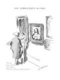"""Well, now we've seen that, Augusta. Cross it off the list."" - New Yorker Cartoon Premium Giclee Print by Helen E. Hokinson"