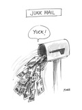 Junk Mail - New Yorker Cartoon Premium Giclee Print by Frank Modell
