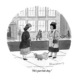 """He's part bok choy."" - New Yorker Cartoon Premium Giclee Print by Danny Shanahan"