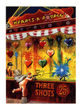 Hearts-a-Poppin' - New Yorker Cartoon Premium Giclee Print by Justin Green