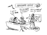 Anchor's Away - New Yorker Cartoon Premium Giclee Print by Sidney Harris