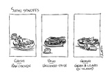 Sushi Spinoffs - New Yorker Cartoon Premium Giclee Print by Sidney Harris