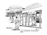 A Legendary Friendship - New Yorker Cartoon Premium Giclee Print by J.B. Handelsman