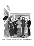 """Wilbur is consistently unpleasant—a sort of Dr. Hyde and Mr. Hyde."" - New Yorker Cartoon Premium Giclee Print by J.B. Handelsman"