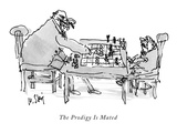 The Prodigy Is Mated - New Yorker Cartoon Premium Giclee Print by William Steig