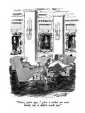 """Once, years ago, I gave a sucker an even break, but it didn't work out."" - New Yorker Cartoon Premium Giclee Print by Mischa Richter"