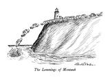 The Lemmings of Montauk - New Yorker Cartoon Premium Giclee Print by J.B. Handelsman