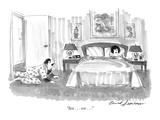 """""""Sex . . . sex . . ."""" - New Yorker Cartoon Premium Giclee Print by Bernard Schoenbaum"""