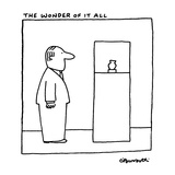 The Wonder Of It All - New Yorker Cartoon Reproduction giclée Premium par Charles Barsotti