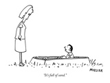 """It's full of sand."" - New Yorker Cartoon Premium Giclee Print by Peter Mueller"