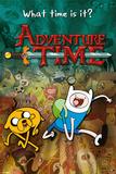 Adventure Time-Collage 25 Kunstdruck