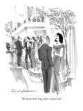 """We hated them long before anyone else."" - New Yorker Cartoon Premium Giclee Print by Bernard Schoenbaum"
