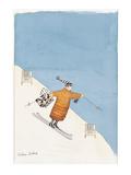 Shopping Days' - New Yorker Cartoon Premium Giclee-trykk av Victoria Roberts