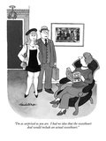 """I'm as surprised as you are.  I had no idea that the sweetheart deal woul…"" - New Yorker Cartoon Premium Giclee Print by J.B. Handelsman"