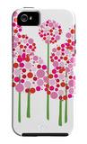 Pink Allium Coque iPhone 5 par  Avalisa